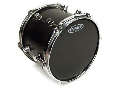 evans onyx series 2 ply black 10 tom batter drum head b10onx2 vintage drum center. Black Bedroom Furniture Sets. Home Design Ideas