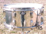 vintage Leedy Broadway Parallel Snare Drum - 6.5 x 14, 1941, brass shell