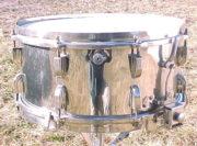 vintage Leedy Broadway Parallel Snare Drum - 6.5 x 14, 1941, brass shell