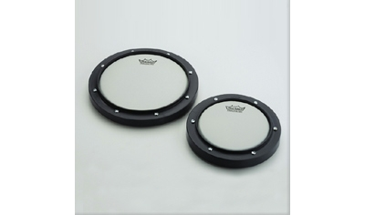 remo 8 ebony black practice pad replacement drum head vintage drum center. Black Bedroom Furniture Sets. Home Design Ideas