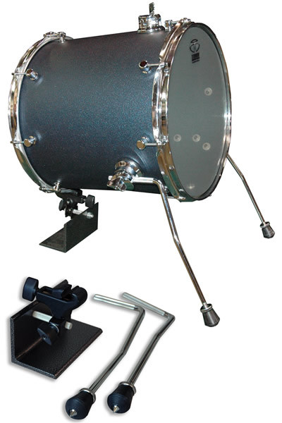 Trick floor tom to bass drum conversion kit 10 5 mm for 18 inch floor tom for sale
