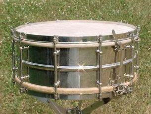 Vintage Ludwig 6x15 Super Snare Drum 1920s