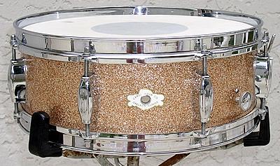 Camco 5x14 Snare Drum 1960 S Champagne Sparkle Vintage Drum Center