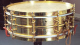 Vintage 1920s Ludwig Black Beauty snare drum